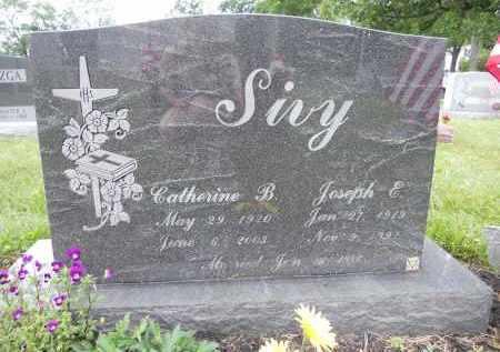 SIVY, CATHERINE B - Portage County, Ohio   CATHERINE B SIVY - Ohio Gravestone Photos