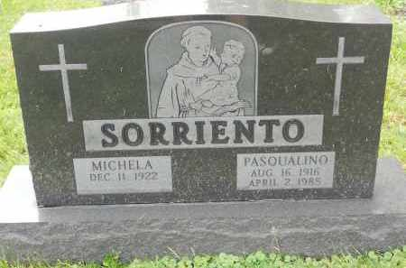 SORRIENTO, PASQUALINO - Portage County, Ohio | PASQUALINO SORRIENTO - Ohio Gravestone Photos