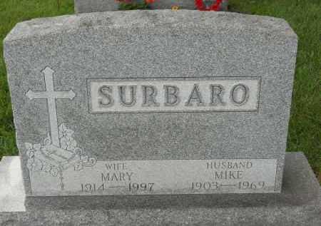 SURBARO, MARY - Portage County, Ohio | MARY SURBARO - Ohio Gravestone Photos