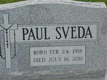 SVEDA, PAUL - Portage County, Ohio | PAUL SVEDA - Ohio Gravestone Photos