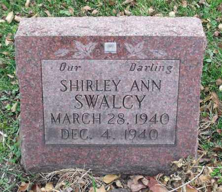 SWALCY, SHIRLEY ANN - Portage County, Ohio   SHIRLEY ANN SWALCY - Ohio Gravestone Photos
