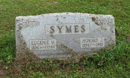 SYMES, EUGENIE M - Portage County, Ohio | EUGENIE M SYMES - Ohio Gravestone Photos
