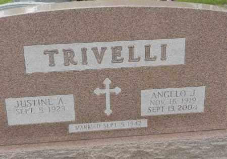 TRIVELLI, ANGELO J - Portage County, Ohio | ANGELO J TRIVELLI - Ohio Gravestone Photos