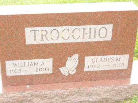 TROCCHIO, GLADYS M - Portage County, Ohio   GLADYS M TROCCHIO - Ohio Gravestone Photos