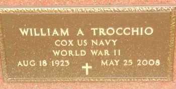 TROCCHIO, WILLIAM A - Portage County, Ohio | WILLIAM A TROCCHIO - Ohio Gravestone Photos