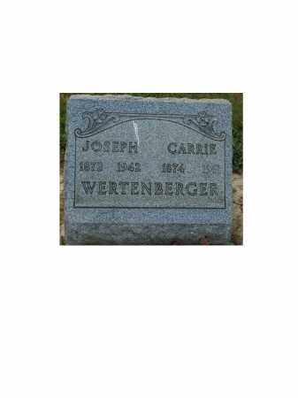 WERTENBERGER, CARRIE - Portage County, Ohio | CARRIE WERTENBERGER - Ohio Gravestone Photos
