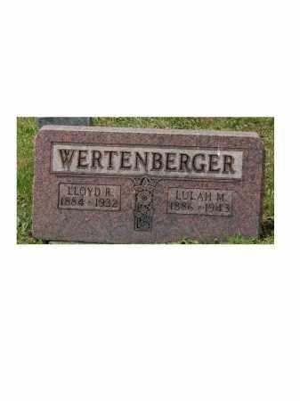WERTENBERGER, LLOYD - Portage County, Ohio | LLOYD WERTENBERGER - Ohio Gravestone Photos