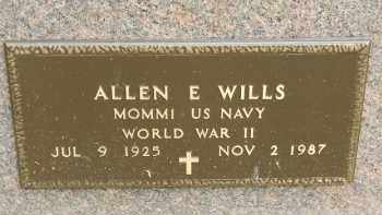 WILLS, ALLEN EUGENE - Portage County, Ohio | ALLEN EUGENE WILLS - Ohio Gravestone Photos