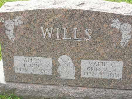 GRIESBAUM WILLS, MARIE C - Portage County, Ohio | MARIE C GRIESBAUM WILLS - Ohio Gravestone Photos