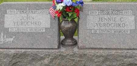 YUROCHKO, JENNIE C - Portage County, Ohio | JENNIE C YUROCHKO - Ohio Gravestone Photos
