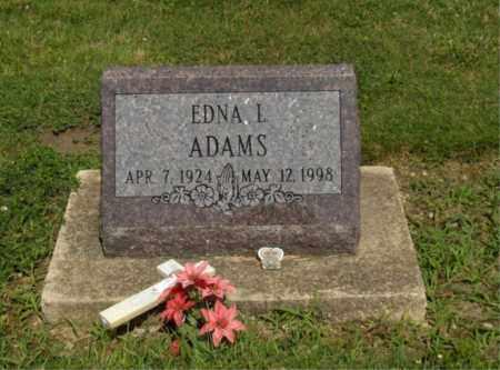 PADGETT ADAMS, EDNA - Preble County, Ohio | EDNA PADGETT ADAMS - Ohio Gravestone Photos