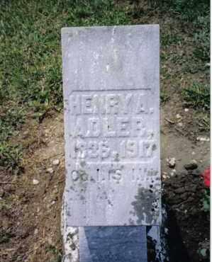 ADLER, HENRY A. - Preble County, Ohio   HENRY A. ADLER - Ohio Gravestone Photos