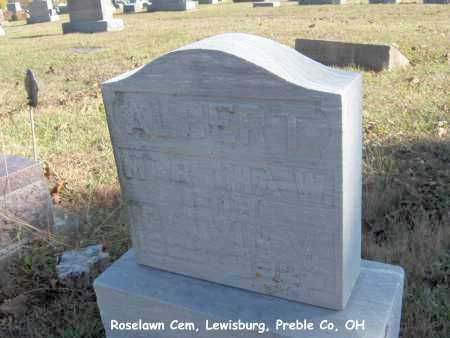 ALBERT, CALVIN - Preble County, Ohio | CALVIN ALBERT - Ohio Gravestone Photos