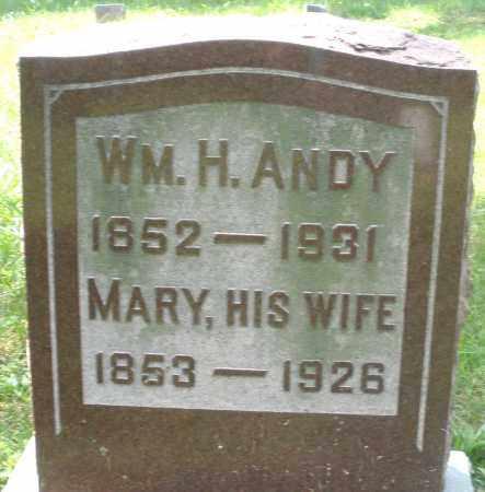 ANDY, MARY - Preble County, Ohio | MARY ANDY - Ohio Gravestone Photos