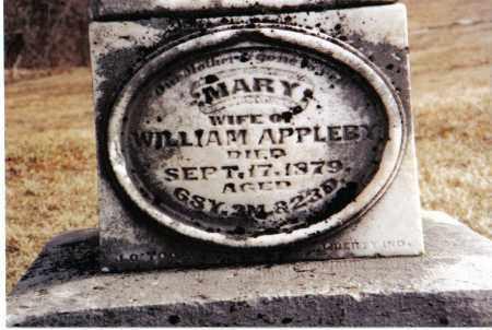 APPLEBY, MARY - Preble County, Ohio | MARY APPLEBY - Ohio Gravestone Photos