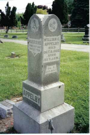 APPLEBY, WILLIAM C. - Preble County, Ohio | WILLIAM C. APPLEBY - Ohio Gravestone Photos