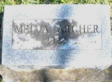 ARCHER, MELVA - Preble County, Ohio | MELVA ARCHER - Ohio Gravestone Photos