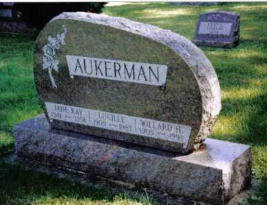 AUKERMAN, JANE KAY - Preble County, Ohio   JANE KAY AUKERMAN - Ohio Gravestone Photos