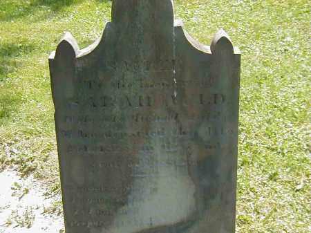 AULD, SARAH - Preble County, Ohio   SARAH AULD - Ohio Gravestone Photos