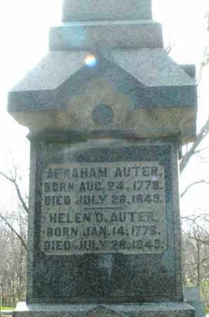 AUTER, ABRAHAM - Preble County, Ohio | ABRAHAM AUTER - Ohio Gravestone Photos