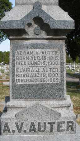 AUTER, ELVIRA J. - Preble County, Ohio | ELVIRA J. AUTER - Ohio Gravestone Photos