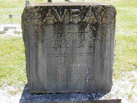 AVRA, SUSAN - Preble County, Ohio | SUSAN AVRA - Ohio Gravestone Photos