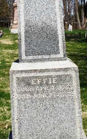 AYERS, EFFIE - Preble County, Ohio   EFFIE AYERS - Ohio Gravestone Photos