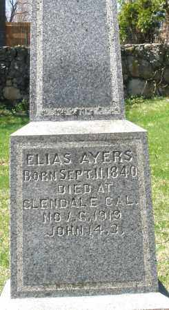 AYERS, ELIAS - Preble County, Ohio | ELIAS AYERS - Ohio Gravestone Photos