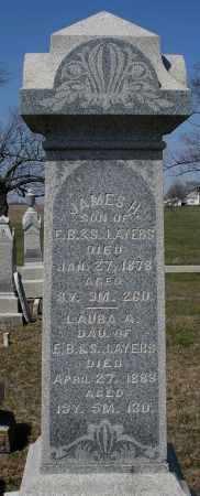 AYERS, JAMES H. - Preble County, Ohio | JAMES H. AYERS - Ohio Gravestone Photos