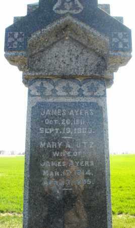 UTZ AYERS, MARY A. - Preble County, Ohio | MARY A. UTZ AYERS - Ohio Gravestone Photos