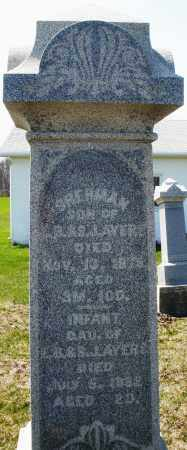 AYERS, INFANT DAUGHTER - Preble County, Ohio | INFANT DAUGHTER AYERS - Ohio Gravestone Photos