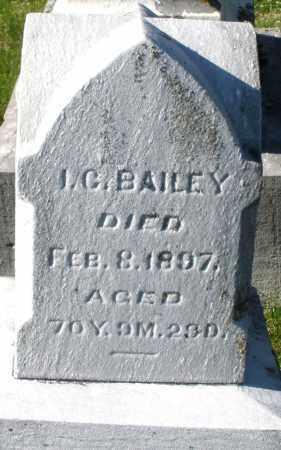 BAILEY, I.C. - Preble County, Ohio   I.C. BAILEY - Ohio Gravestone Photos