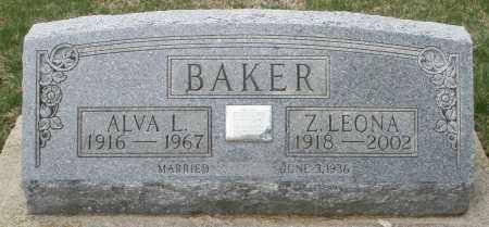 BAKER, Z. LEONA - Preble County, Ohio | Z. LEONA BAKER - Ohio Gravestone Photos
