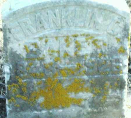 BAKER, FRANKLIN - Preble County, Ohio   FRANKLIN BAKER - Ohio Gravestone Photos