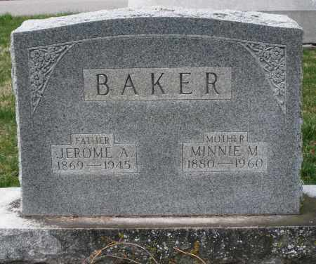 BAKER, JEROME ABSOLOM - Preble County, Ohio | JEROME ABSOLOM BAKER - Ohio Gravestone Photos