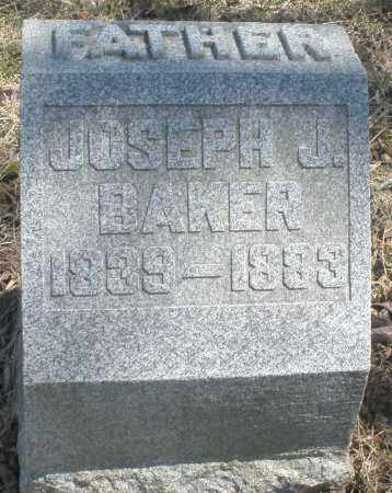BAKER, JOSEPH J. - Preble County, Ohio   JOSEPH J. BAKER - Ohio Gravestone Photos