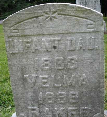 BAKER, VELMA - Preble County, Ohio | VELMA BAKER - Ohio Gravestone Photos