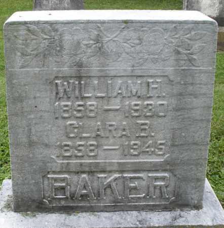 BAKER, WILLIAM H. - Preble County, Ohio | WILLIAM H. BAKER - Ohio Gravestone Photos