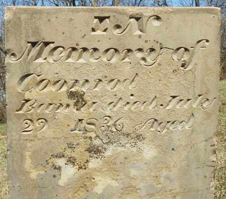 BANTA, CONRAD - Preble County, Ohio | CONRAD BANTA - Ohio Gravestone Photos
