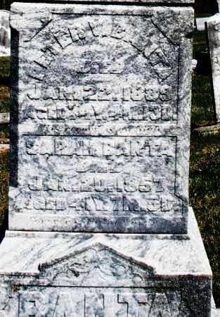BANTA, PETER - Preble County, Ohio | PETER BANTA - Ohio Gravestone Photos
