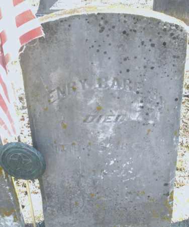 BARE, HENRY JR. - Preble County, Ohio   HENRY JR. BARE - Ohio Gravestone Photos