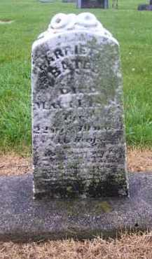 BATES, HARRIETT - Preble County, Ohio | HARRIETT BATES - Ohio Gravestone Photos