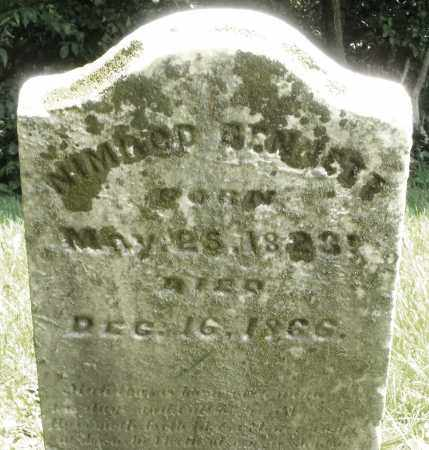BENNETT, NIMROD - Preble County, Ohio   NIMROD BENNETT - Ohio Gravestone Photos