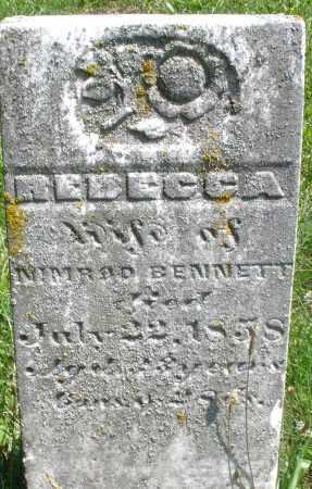 BENNETT, REBECCA - Preble County, Ohio | REBECCA BENNETT - Ohio Gravestone Photos