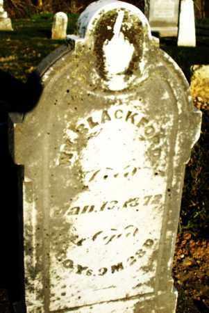 BLACKFORD, WILLIAM - Preble County, Ohio   WILLIAM BLACKFORD - Ohio Gravestone Photos