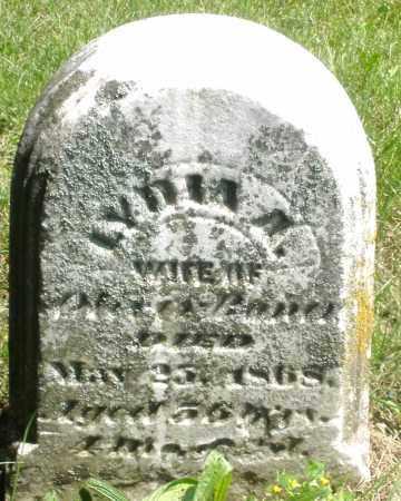 BONER ?, LYDIA A. - Preble County, Ohio | LYDIA A. BONER ? - Ohio Gravestone Photos