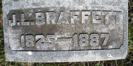 BRAFFETT, J.L. - Preble County, Ohio   J.L. BRAFFETT - Ohio Gravestone Photos