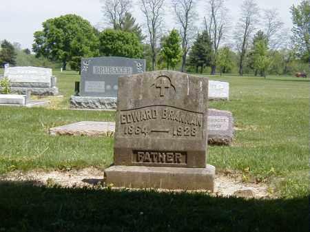 BRANNAN, EDWARD - Preble County, Ohio   EDWARD BRANNAN - Ohio Gravestone Photos