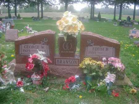 BRASHEARS BRANSON, EDITH - Preble County, Ohio | EDITH BRASHEARS BRANSON - Ohio Gravestone Photos