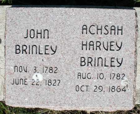 BRINLEY, ACHSAH HARVEY - Preble County, Ohio | ACHSAH HARVEY BRINLEY - Ohio Gravestone Photos